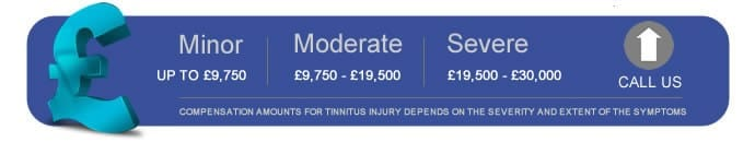 Tinnitus Compensation Claim Table
