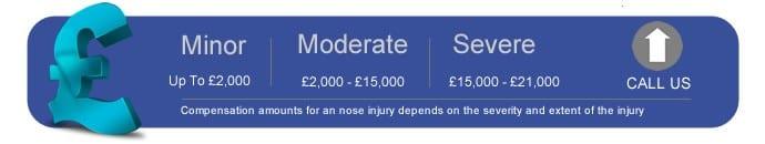 Nose Injury Compensation Calculator