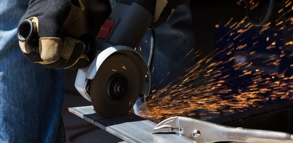 Angle Grinder Accident at Work Claims